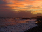 Sonnenuntergang in Limassol