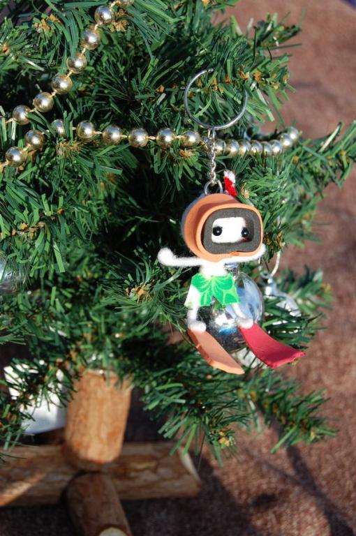 Taucher am Weihnachtsbaum