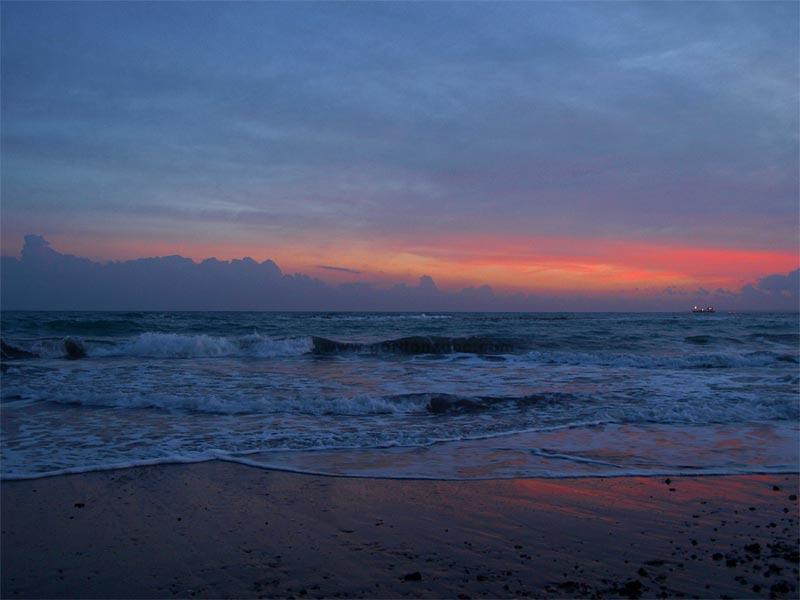 Kühles Meer